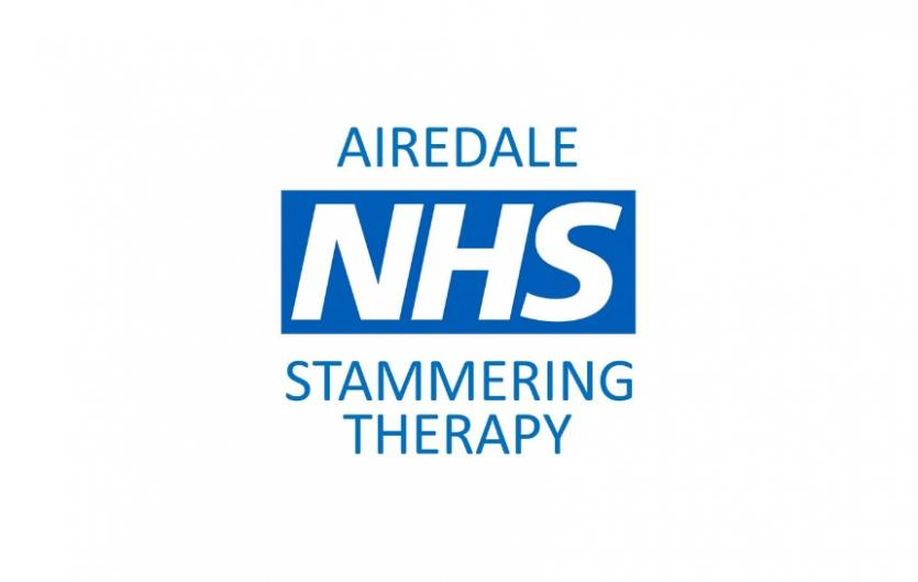 The Airedale NHS Stammering Therapy logo