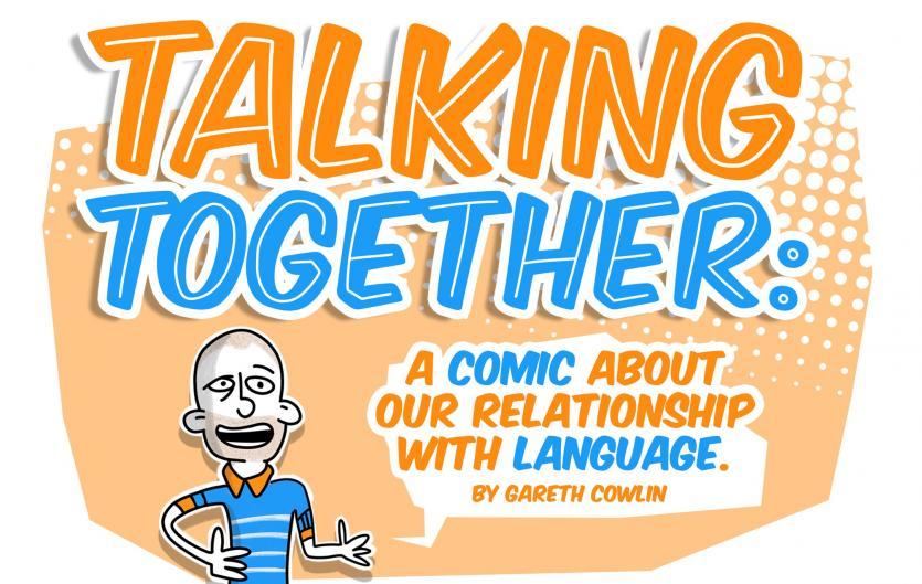 Talking together comic strip: The iceberg