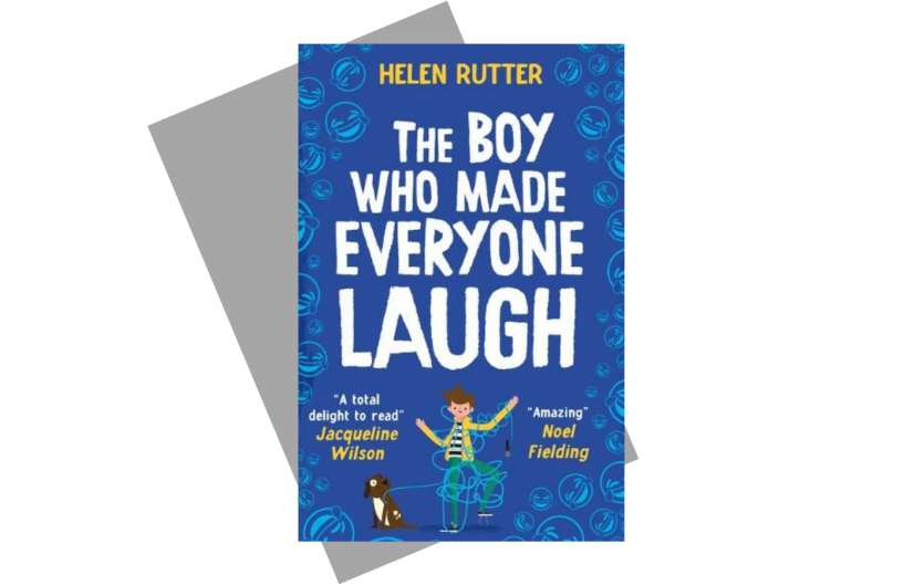 'The Boy Who Made Everyone Laugh' book cover
