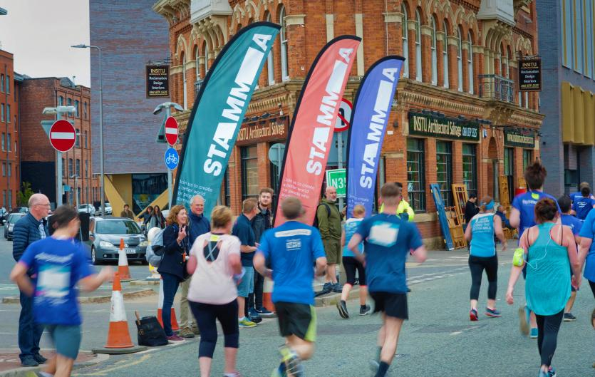 Stamma at the Manchester 10K 2019