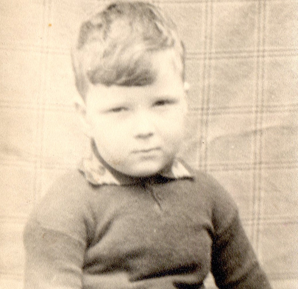 Alan as a boy in the 1940s