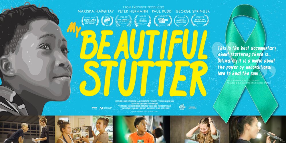 Poster of the film 'My Beautiful Stutter'