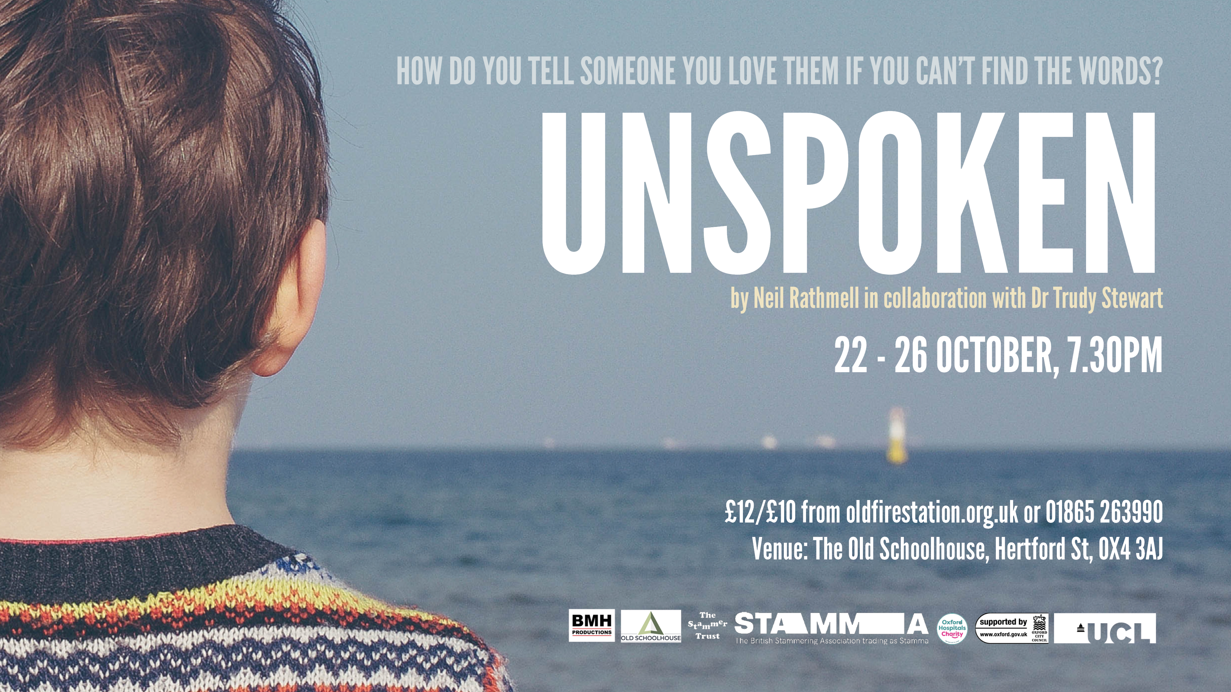 Poster for the play Unspoken
